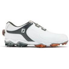 FootJoy Tour-S BOA Golf Shoes - White/Dark Grey UK 7