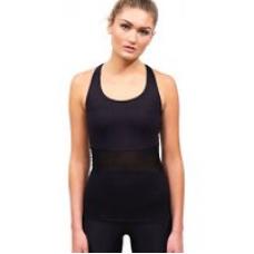 Acai Activewear Little Black Top With Built-In Bra