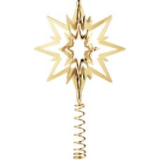 Georg Jensen 18ct Yellow Gold Vermeil Star Christmas Tree Topper