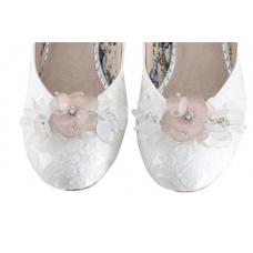 Perfect Bridal Damson Shoe Trim - Clear Crystal