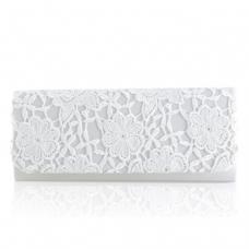 Perfect Bridal Ash Bridal Bag - Lace - Ivory Lace