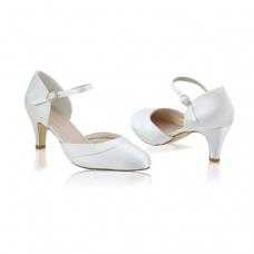 Perfect Bridal Elsa Shoes - Ivory - Euro 40 (UK 6.5 / 7, US 9)