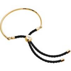 Bali Bracelet in Gold with Black