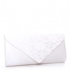Pink Paradox Lure Handbag - Ivory